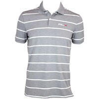 RLX YD Stripe Airflow Golf Shirt Everest Heather AW15