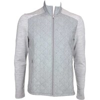 RLX Quilted Wool Front Golf Jacket Everest Heather AW15