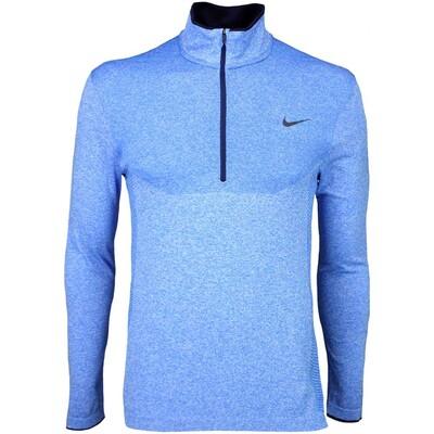 Nike Golf Jumper - Flex Knit Zip Photo Blue SS16