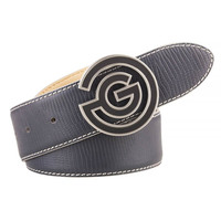 Galvin Green Golf Belt - WESLEY Leather - Iron Grey AW17
