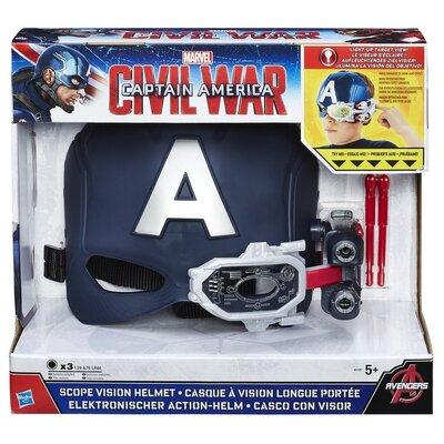 Captain America Civil War Scope Vision Helmet