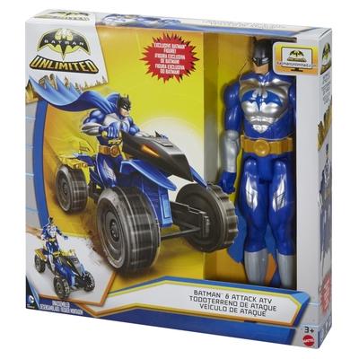 Batman Unlimited: 12 Batman & Attack ATV Action Figure