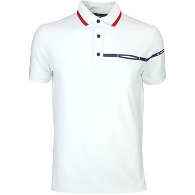 Cherv242 Golf Shirt ANETO White SS16