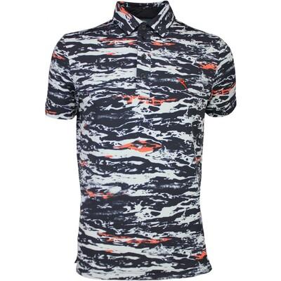 Cherv242 Golf Shirt ASTEMIO Black Camo SS16
