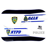 Velocifero NYPD Full Sticker Set