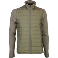 RLX Golf Jacket - Quilted Coolwool - Scout Taupe AW16