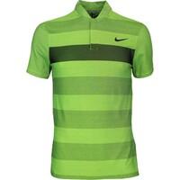 Nike Golf Shirt - MM Fly BLADE Stripe Alpha - Volt AW16