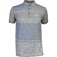Hugo Boss Golf Shirt - Paddy MK 3 - Grey Melange FA16