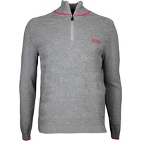 Hugo Boss Golf Jumper - Zayo MK - Grey Melange FA16