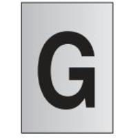 metal-effect-pvc-letter-g