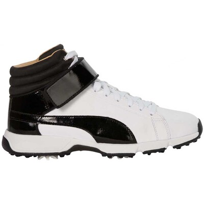 Puma Junior Golf Shoes - TitanTour Hi-Top SE - White 2017
