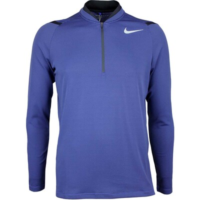 Nike Golf Pullover - Aeroreact Half Zip - Deep Night SS17