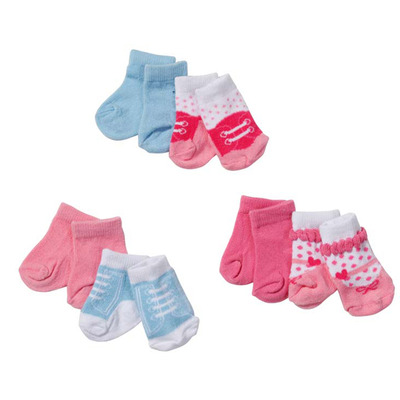 Baby Born Socks (Onep pair supplied, colours may vary)