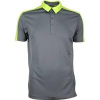 Galvin Green Golf Shirt - MIKE Ventil8 Plus - Iron Grey SS17
