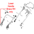 Click to view product details and reviews for Al Ko Lower Handle Brace Rh 46349540.
