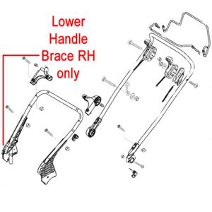 Al Ko Lower Handle Brace Rh 46349540