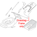 Click to view product details and reviews for Mountfield Grass Catcher Frame 122608527 0.