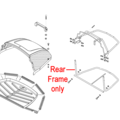 Click to view product details and reviews for Al Ko Tractor Grassbox Rear Frame 514182.