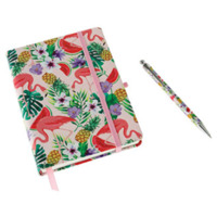 aroma-home-flamingo-notebook-pen-ruled