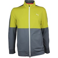 Puma Golf Jumper - PWRWARM Track Jacket - NRGY Yellow AW17