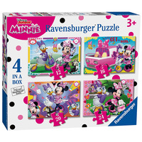 Ravensburger Disney Minnie Mouse Happy Helpers - 4 In Box