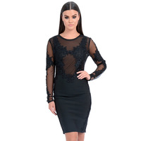 forever-unique-talisa-lace-embroidered-bodycon-dress-black-s