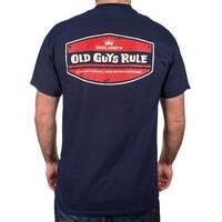 Old Guys Rule Tee - Local Legend, Navy, XXL