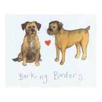 Alex Clarks Barking Borders Placemat