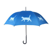 Cat Walking Stick Style Umbrella