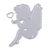 Printable Heaven die - Fairy with Heart (1pc)
