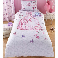 Catherine Lansfield Glamour Princess Single Duvet Set
