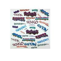 Graffiti, Kids Peel and Stick Quicksticks - 34
