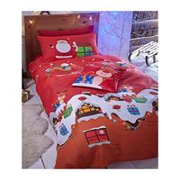 Catherine Lansfield Santas Christmas Present Double Duvet Set