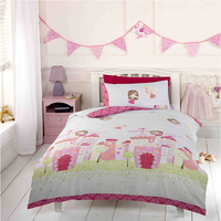 Fairy Castle Toddler / Junior Bedding Bundle 9.0 Tog 120 x 150 cm