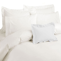 Catherine Lansfield Home 200 Thread Count Cotton Egyptian Pillowcase Cream