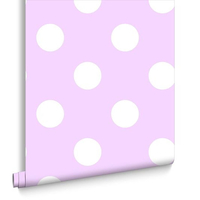 Dotty Wallpaper - Pink