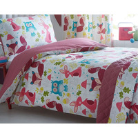Wildwood, Forest Animals, Kids Single Bedding Set