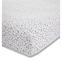 Bianca 100% Cotton Star Print Toddler Fitted Sheet