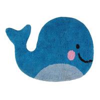 Happy Whale Rug 65 x 47 cm