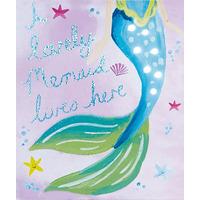 Mermaid World LED Canvas Art