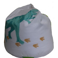 Dinosaur Footprints Bean Bag
