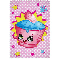 Shopkins Fleece Blanket - Jumble