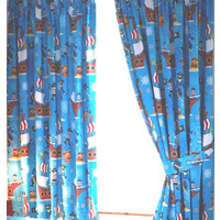 Sea Pirates Curtains 54s