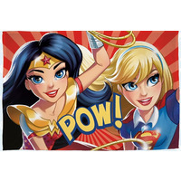 DC Comics Superhero Girls Fleece Blanket - Super