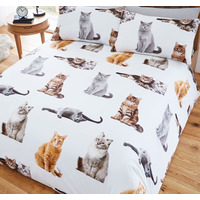 Cat Nap, Single Duvet Cover Set