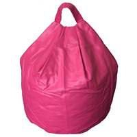 Cerise, Girls Faux Leather Bean Bag