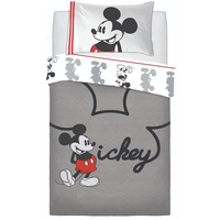 Mickey Mouse Single Bedding - Jersey