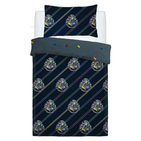 Harry Potter Single Bedding - House Colours