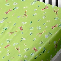 Jungle, Safari Single Fitted Sheet