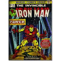 Iron Man Canvas, 70 x 50 cm